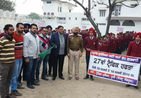 Traffic Week By Traffic Police Dhuri